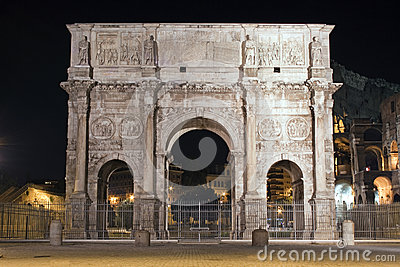 The Arch of Cosntantine, Rome, Italy