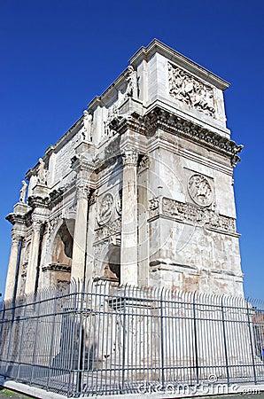 Arch of emperor Constantin