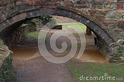 Arch Into The Garden