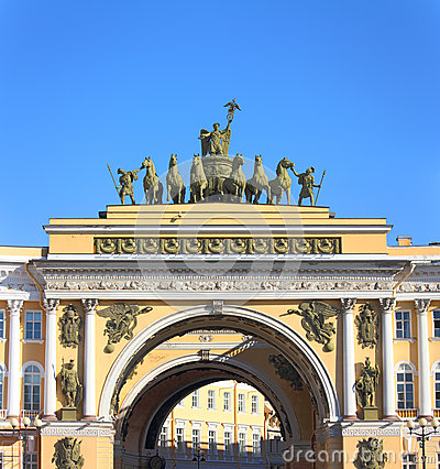 Arch of the General Staff in St. Petersburg