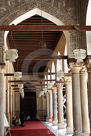 Arch inside a mosque