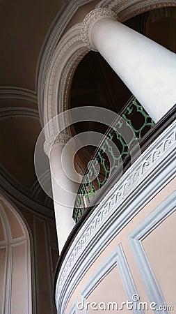 Arch in interior
