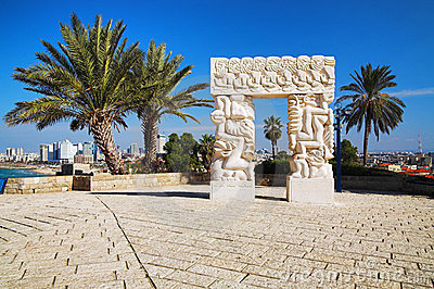 Arch In Jaffa, Israel