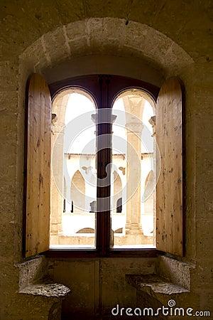 Arch in Majorca Bellver Castle