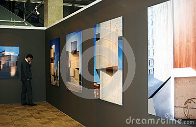 Arch Moscow Next! exhibition Editorial Photography