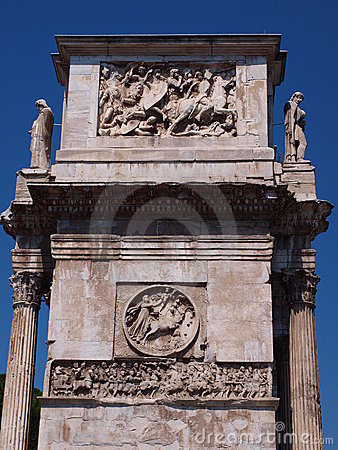 Free Arch Of Constantine The Great, Rome, Italy Royalty Free Stock Photos - 22236648