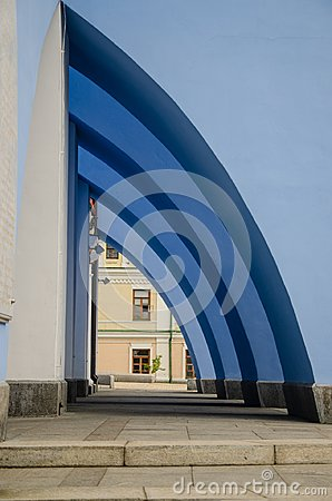 Free Arch, Part Of The Architectural Composition Of One Of The Buildings Royalty Free Stock Photos - 118179968