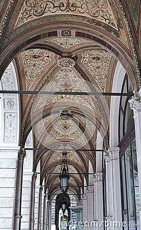 Arch of passage in vienna