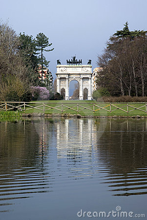 Arch of Peace, Milan