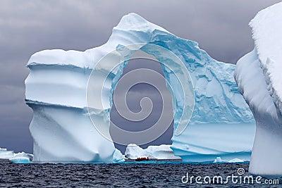 Arch Shaped Iceberg