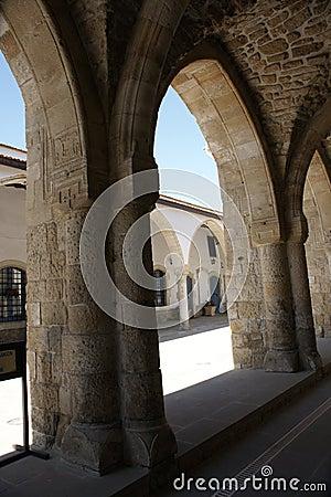Arch in St Lazarus church