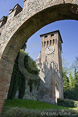 Arch and Tower