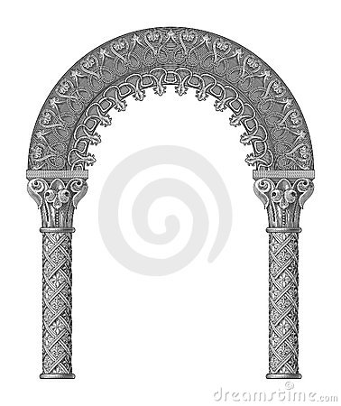 Free Arch Vector Royalty Free Stock Photos - 5190628