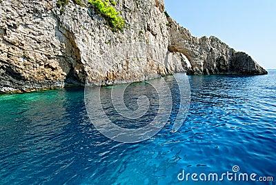 Arch on Zakynthos island