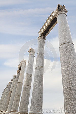 Archaeological site in Izmir, Turkey