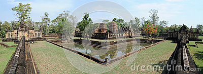 The archaeological site of Prasat Muang Tam
