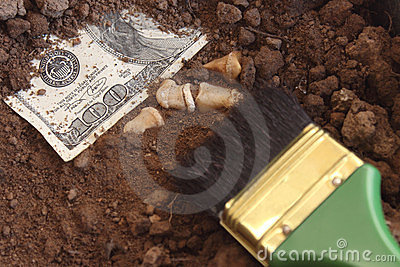 Archaeology and dollar.