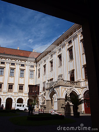 Archbishops Palace, Kromeriz, Czech Republic Editorial Stock Photo