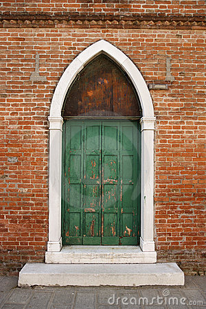 Free Arched Doorway In Venice Royalty Free Stock Photos - 12980048