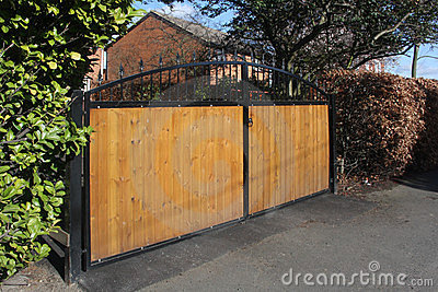 Arched Secure Gates