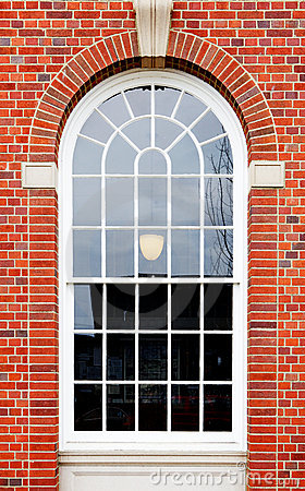 Free Arched Window Brick Wall Royalty Free Stock Photo - 18891095