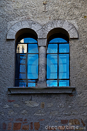 Free Arched Windows Turquoise Reflection Stock Photo - 22005680