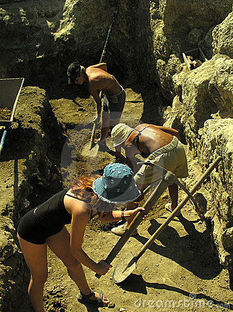 Free Archeological Dig Stock Image - 882991