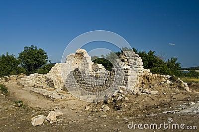 Archeological site Crkvina near Vranja