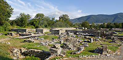Archeological site-Sarmizegetusa