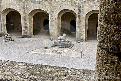 Archeologiczny muzealny Rhodes