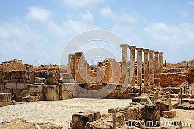 Archeology area near Paphos - Cyprus