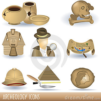 Archeology icons