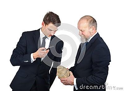 Archeology staff