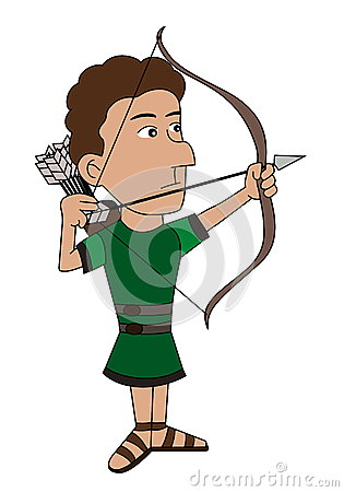 Archer cartoon