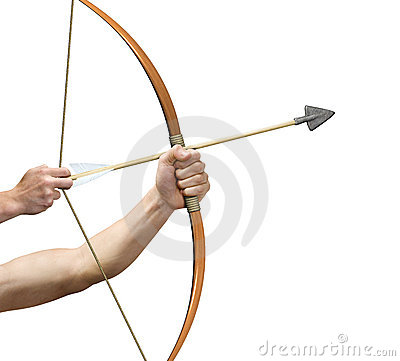 Free Archer Preparing To Release Arrow Stock Photography - 4824262