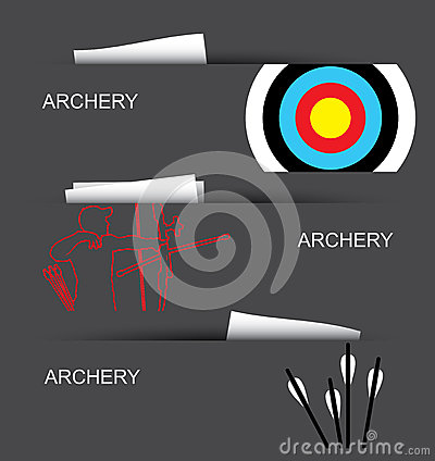 Archery banners