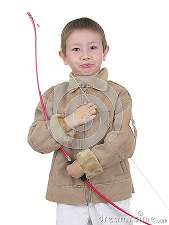 Free Archery Boy Five Royalty Free Stock Photography - 418137
