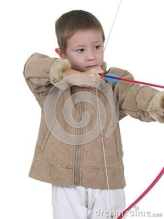 Free Archery Boy One Royalty Free Stock Photos - 418128