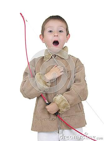 Free Archery Boy Six Royalty Free Stock Photos - 418138