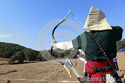 Archery competition in Turkey Editorial Photography
