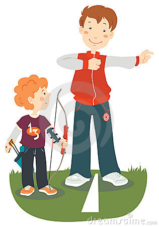 Archery Stock Illustrations – 6,834 Archery Stock Illustrations ...