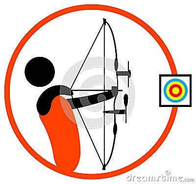 Archery man