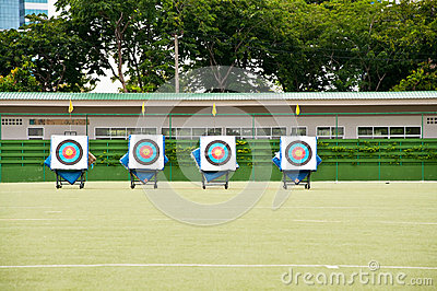 Archery shooting target