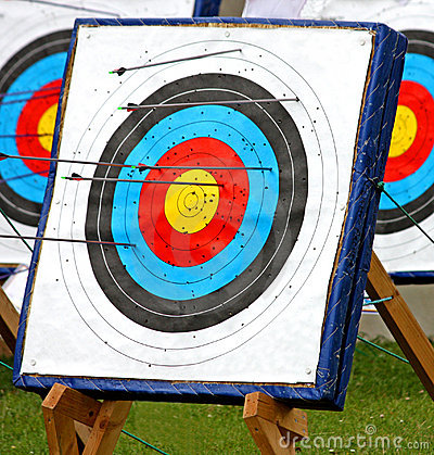 Archery Target.