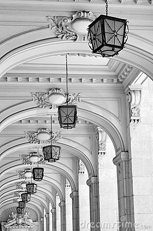 Free Arches And Lamps - Architectural Details Stock Photos - 19688323
