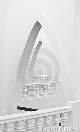 Arches and bannisters
