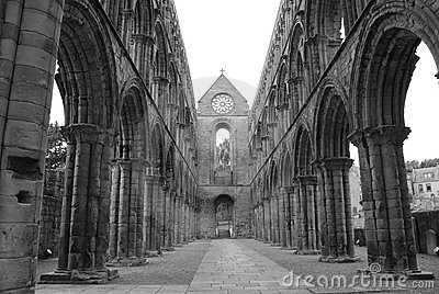 Arches at Jedburgh Abbey