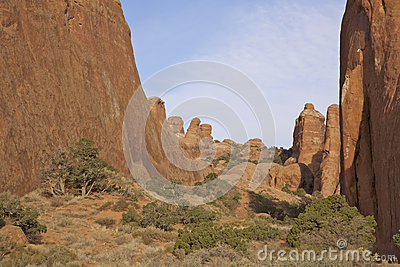 Arches N.P. Utah Canyon