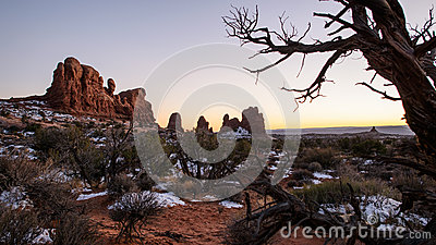 Arches National Park - Turrets
