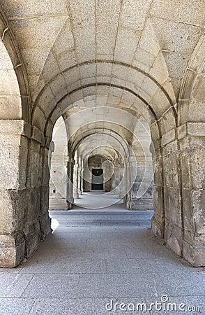 Free Arches On Royal Monastery Stock Photo - 25049160